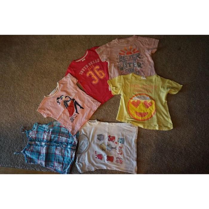 6 μπλουζακια για 4-5χρ  σε Αθήνα