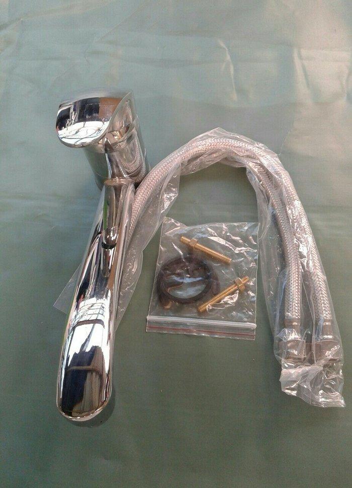 Slavina za sudoperu dubeca duza lula a ima i kraca lula sa dva creva s - Jagodina