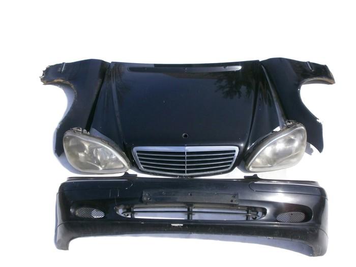 Передняя часть W220, багажник, оптика, зеркала, двери. Из Японии.. Photo 0