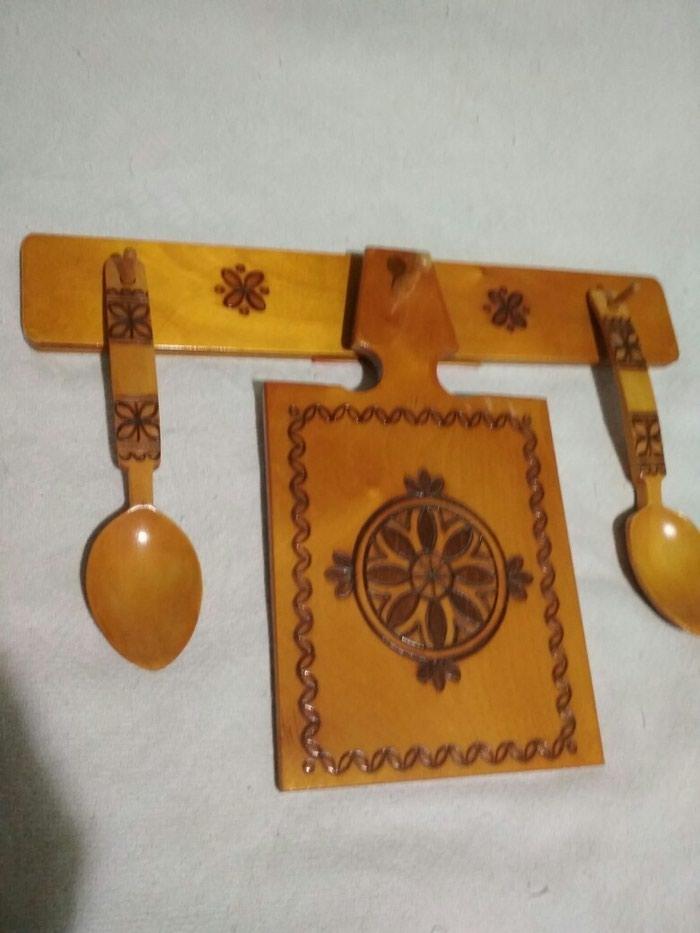 Кухонный набор новый , деревянный ,( СССР) . Photo 0