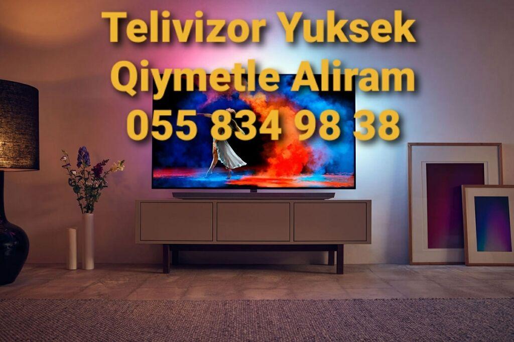 Yeni ve ikinci el Telivizorlari Aliram: Yeni ve ikinci el Telivizorlari Aliram