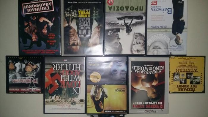 Dvds πάρα πολλά 0,50 - 1 € ανάλογα με την  ποσότητα. Photo 8