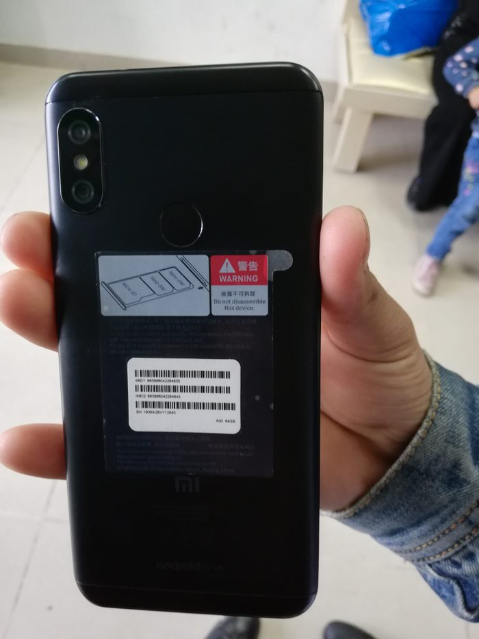 Xiaomi Mi A2 Lite 64gb чёрный. Photo 1