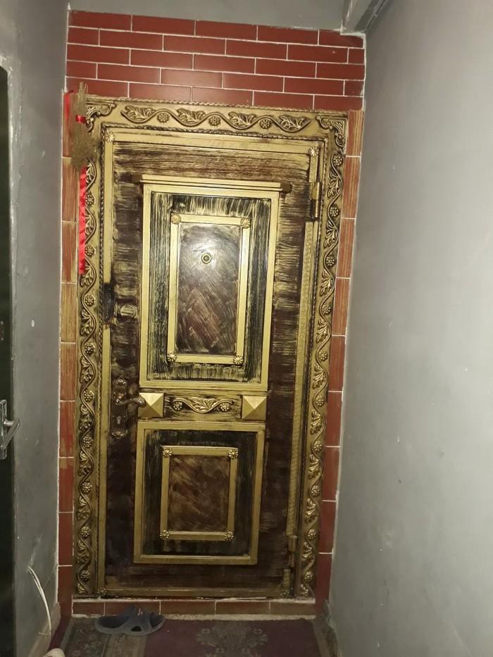 Dəmir seyf qapı satılır 400. Photo 0