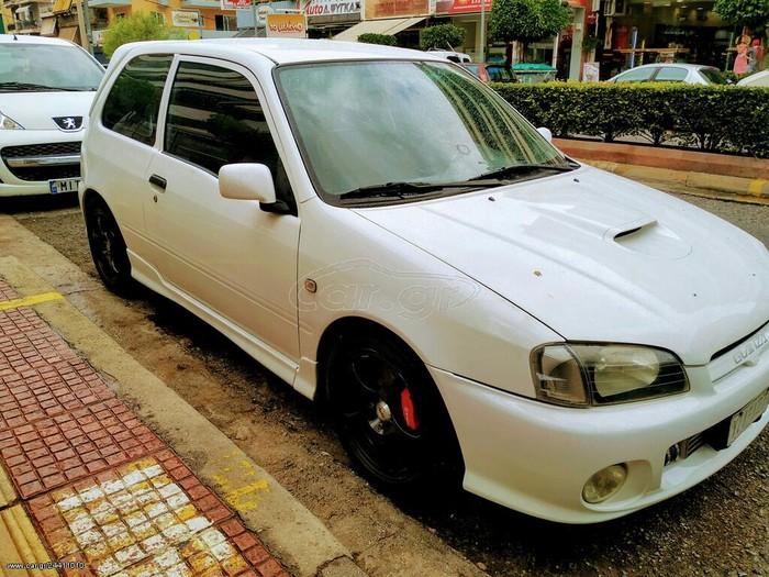 Toyota Starlet 1998. Photo 2