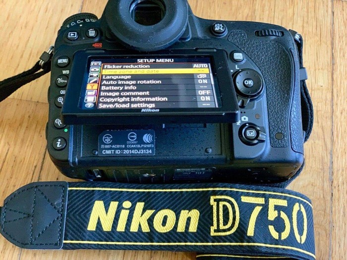 Nikon D 750. Photo 0