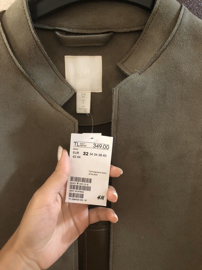 H&M uzun pencek. Photo 2