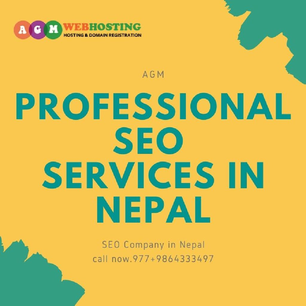 AGM Web Hosting is an SEO Services Company offers high quality professional SEO services in Nepal to anyone looking to enhance branding and traffic to their websites