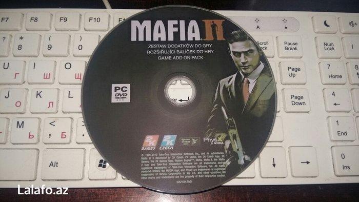 Bakı şəhərində Mafia 2 oyunu.(rus)dilinde.Personal kompyuter ucun.Yenidir.Sayi coxdur