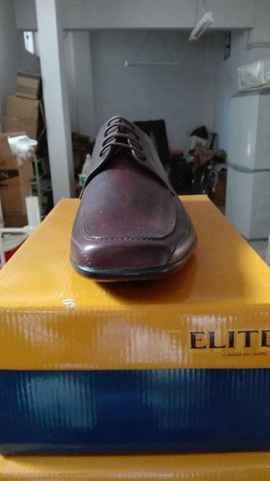 Ανδρικό δερμάτινο παπούτσι για βραδυνές εξόδους ελληνικής εταιρείας. Photo 0