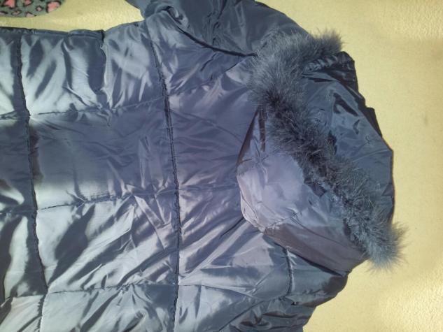 Nova zimska jakna,velicina XXL.Teget boja