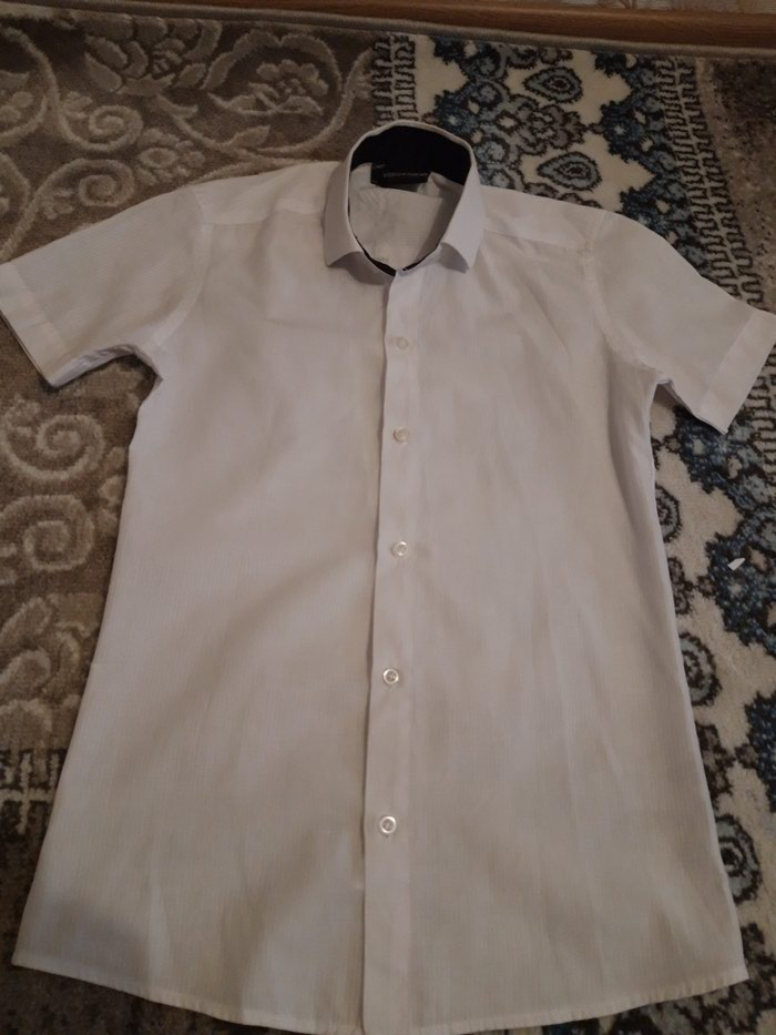 289e08cb32c173f Белая рубашка для мальчиков. Материал за 200 KGS в Бишкеке: Детские ...