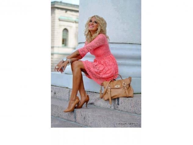 -prelepa cipkana haljina koja se izradjuje u vise boja... -gornji deo - Novi Sad
