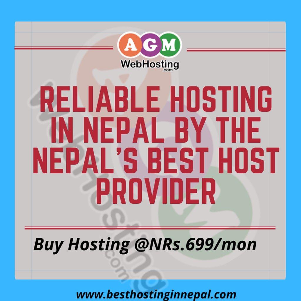 Reliable Hosting in Nepal bythe Nepal's Best Host Provider: