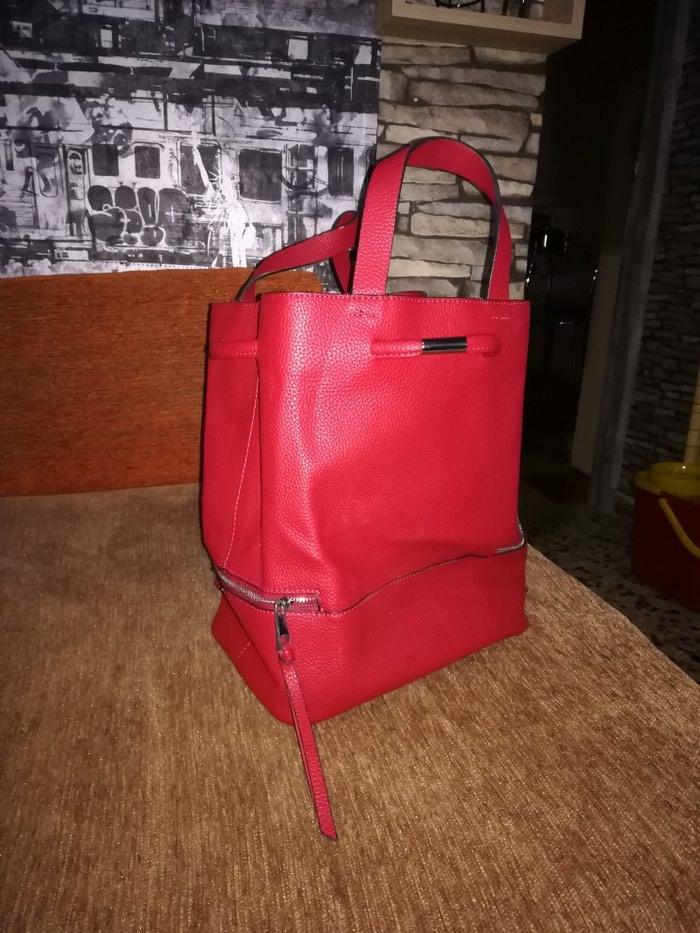 Κόκκινο σακίδιο τσαντακι. Photo 1