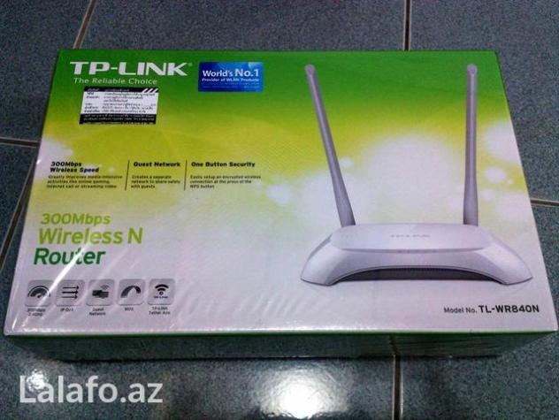 Fiber optic router TL-WR840N 2 antena 4 port 300mbps fiber