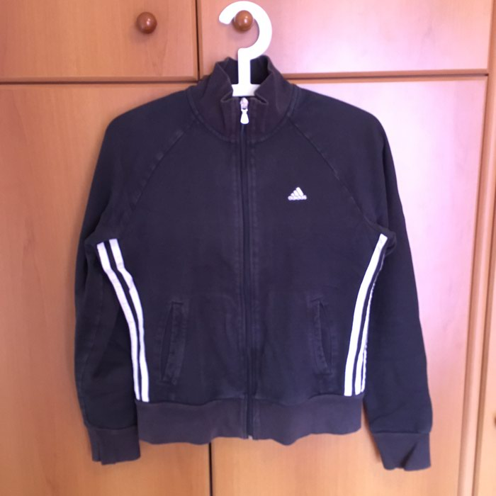 Adidas black jacket size EU38 in perfect condition. Photo 0