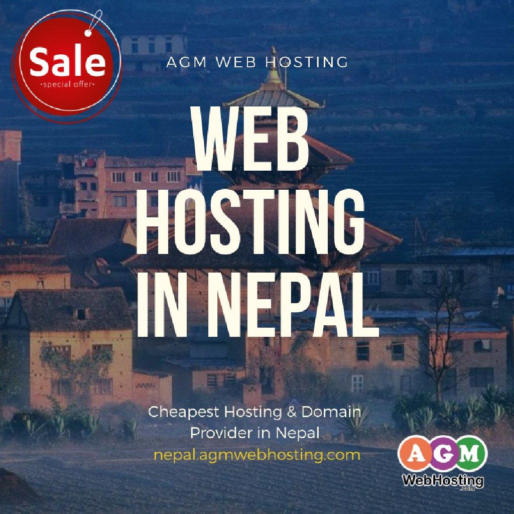 Flat 50% off on Web Hosting in Nepal - AGM Web Hosting