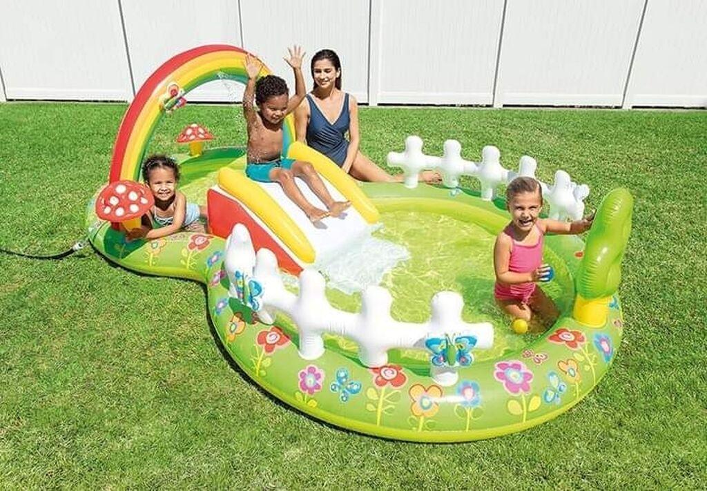 Kućne potrepštine - Arandjelovac: Napravite zabavni centar za decu u vlastitom dvorištu !Otvoreni bazen,