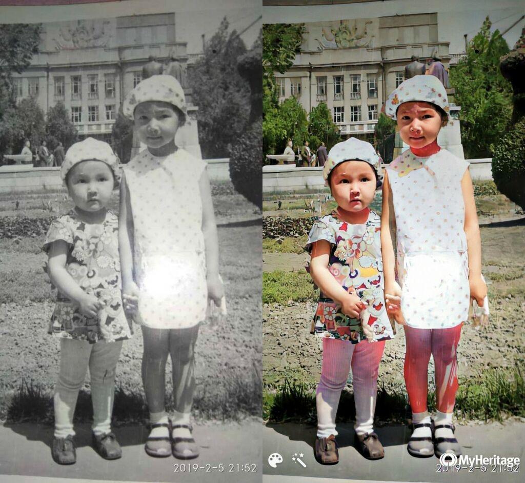 Реставрация, редактирование фото от 15 сом