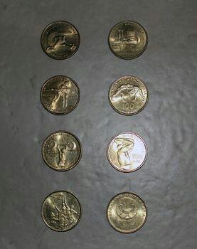 Συλλεκτικα νομισματα των 100 δραχμων. Photo 0