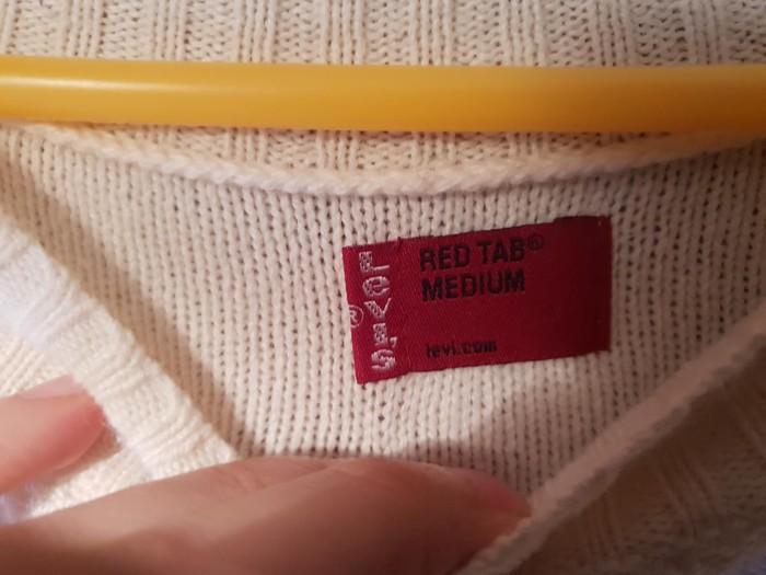 Γυναικεία μάλλινη καινούργια μπλούζα, μάρκας Levis. Photo 1