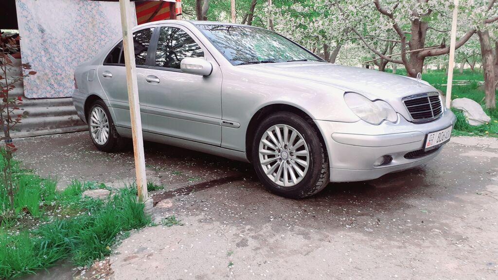 Mercedes-Benz C-Class 1.8 л. 2003 | 190000 км: Mercedes-Benz C-Class 1.8 л. 2003 | 190000 км