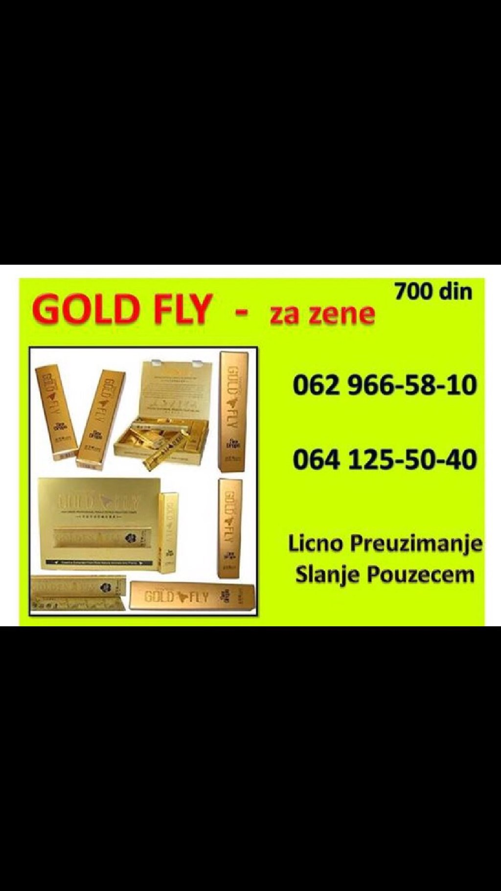 Gold fly! 062/966-58-10