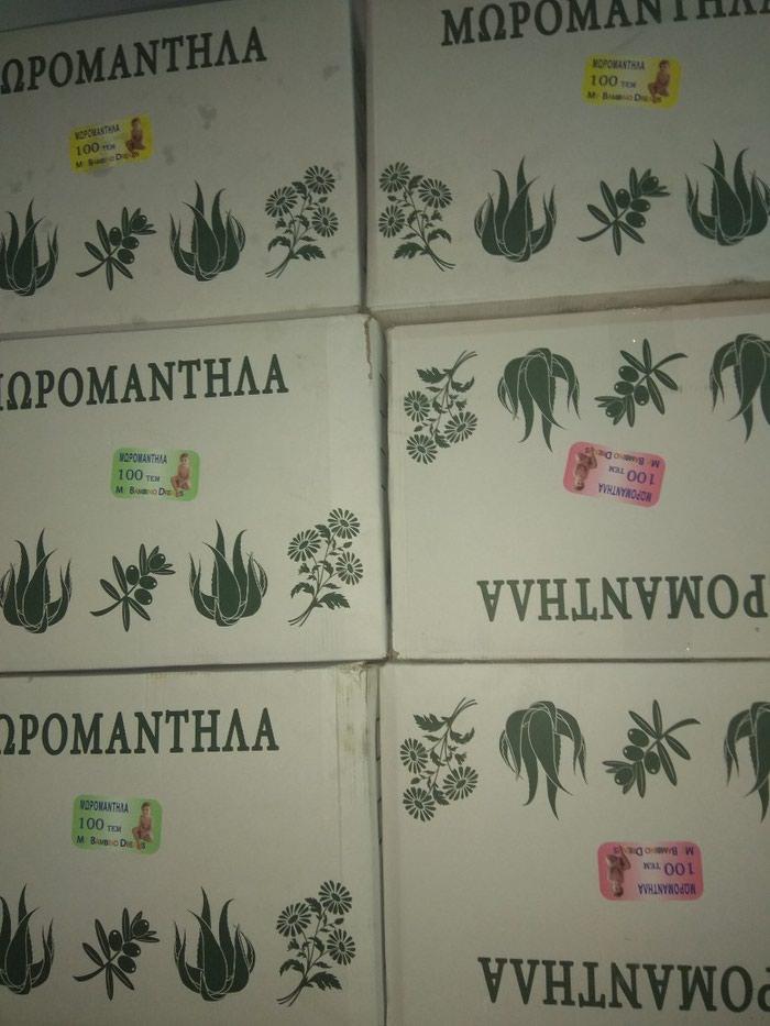 Κούτα Μωρομαντηλα 24 πακέτα με Αλοη Ελιά και Χαμομήλι. Photo 0