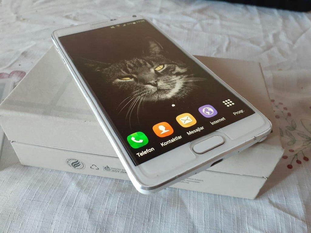 İşlənmiş Samsung Galaxy Note 4 32 GB ağ