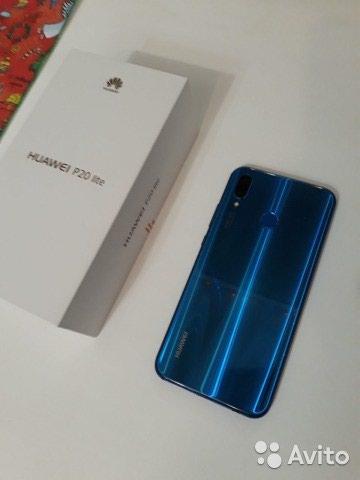 Huawei p20 lite 64 gig 10 мох гаранти дорад. Photo 0