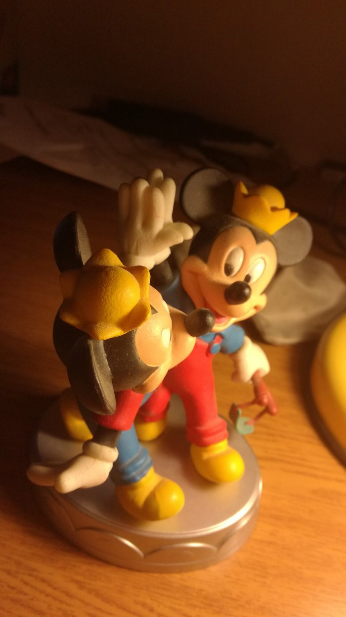 Morty and Ferdie's statuette, from Deagostini's series Disney. Photo 0