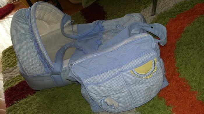 Nosiljka za bebu i torba malo koriscena kao nova - Borca