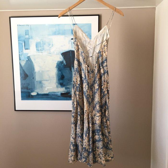 Αυθεντικό Ralph Lauren αμάνικο, μεταξωτό,maxi. Photo 7