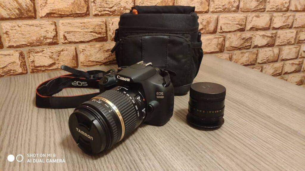 Фотоаппараты - Кара-Балта: Зеркальный полупрофессиональный аппарат CANON EOS 1200D