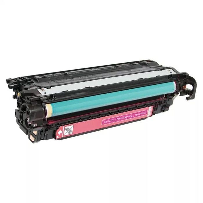 Картридж HP CE253A малиновый, для принтеров CM3530, CM3530fs, LaserJet CP3525dn, LaserJet CP3525n, LaserJet CP3525x на 5000 страниц