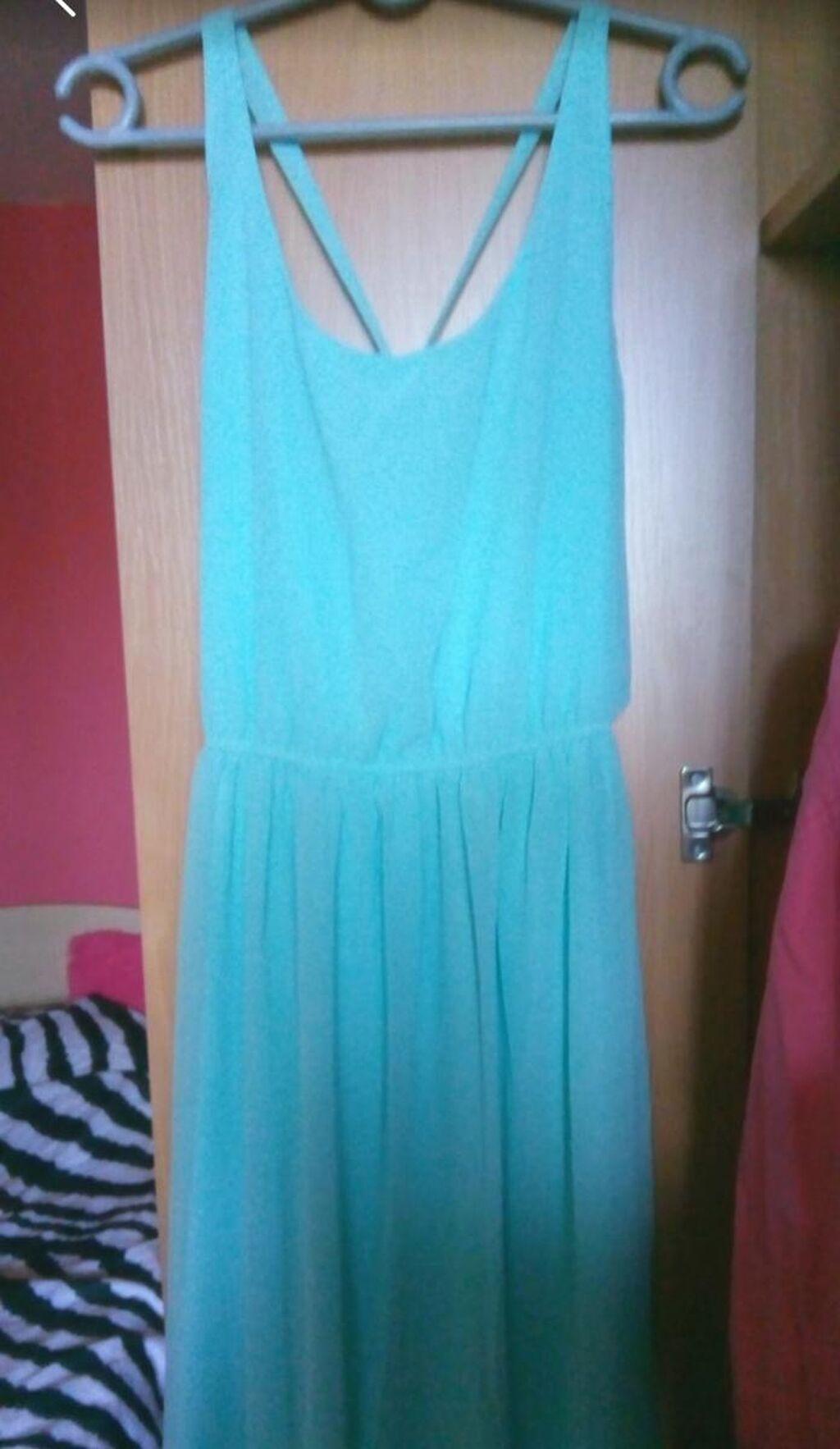 PullBear prelepa svetlo plava svecanija haljina