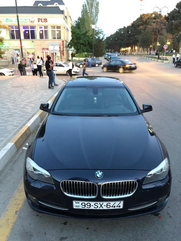 BMW 520 2013. Photo 0