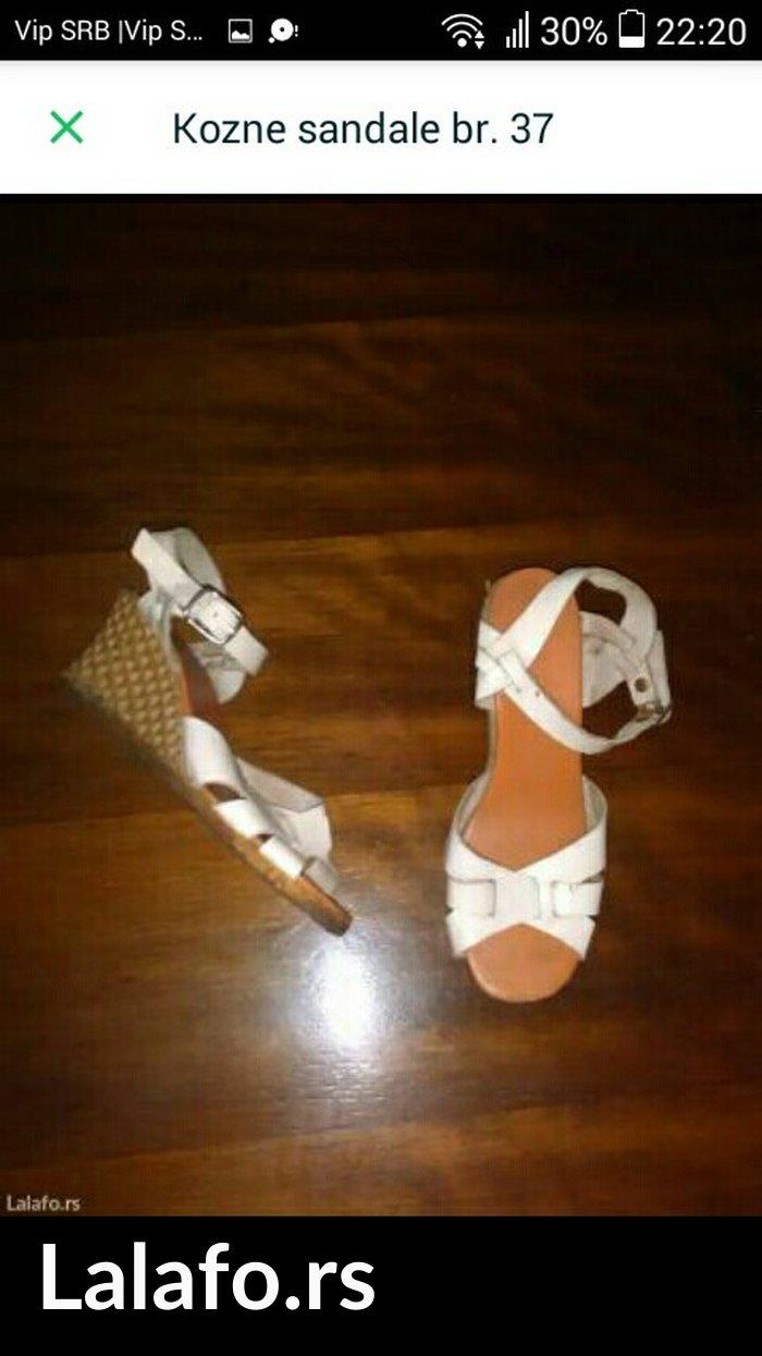 Kožne sandale,  broj 37 - Kovacica