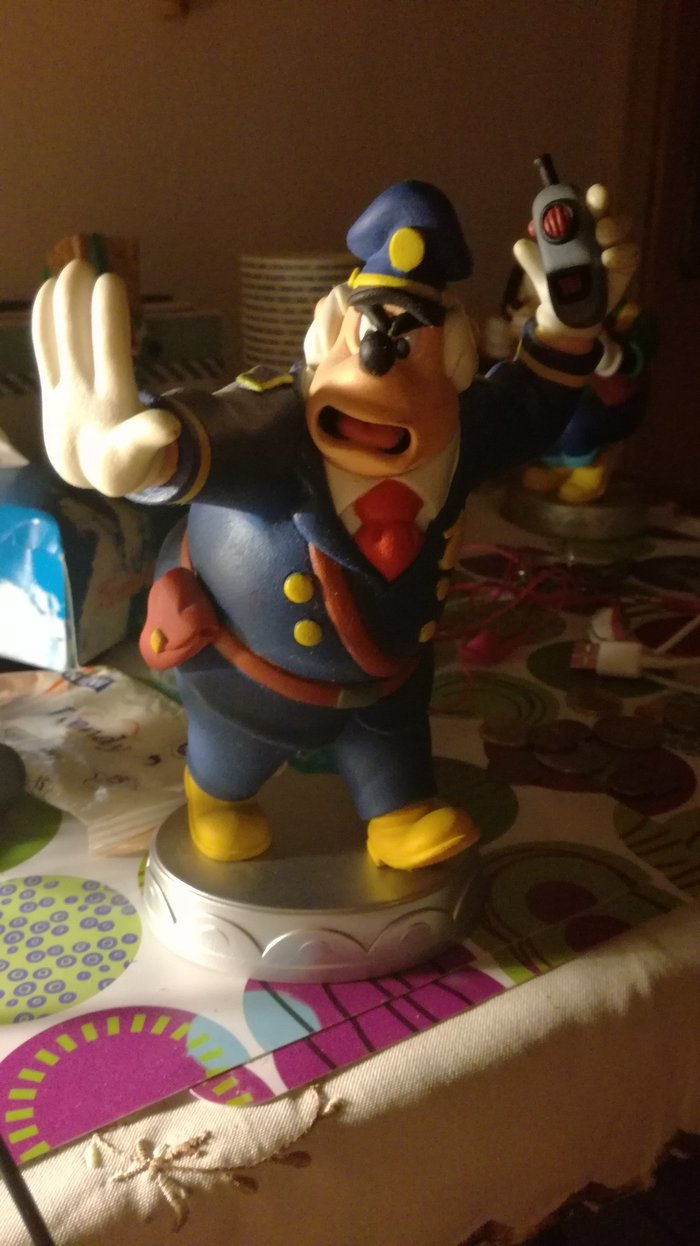 Chief O' Hara's statuette, from Deagostini's series Disney Collection.. Photo 0
