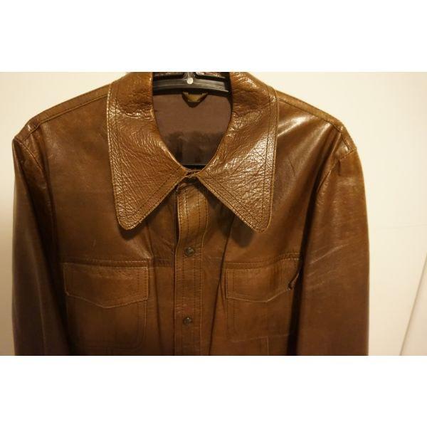 Δερματινο παλτο small . Photo 1