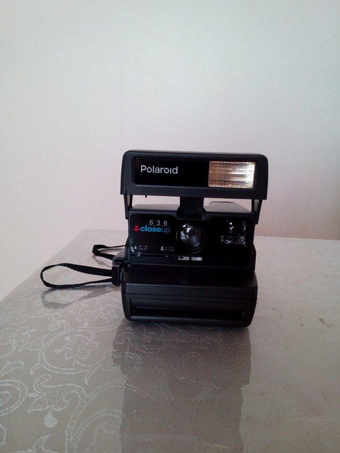 Bakı şəhərində Polaroid fotoapparat