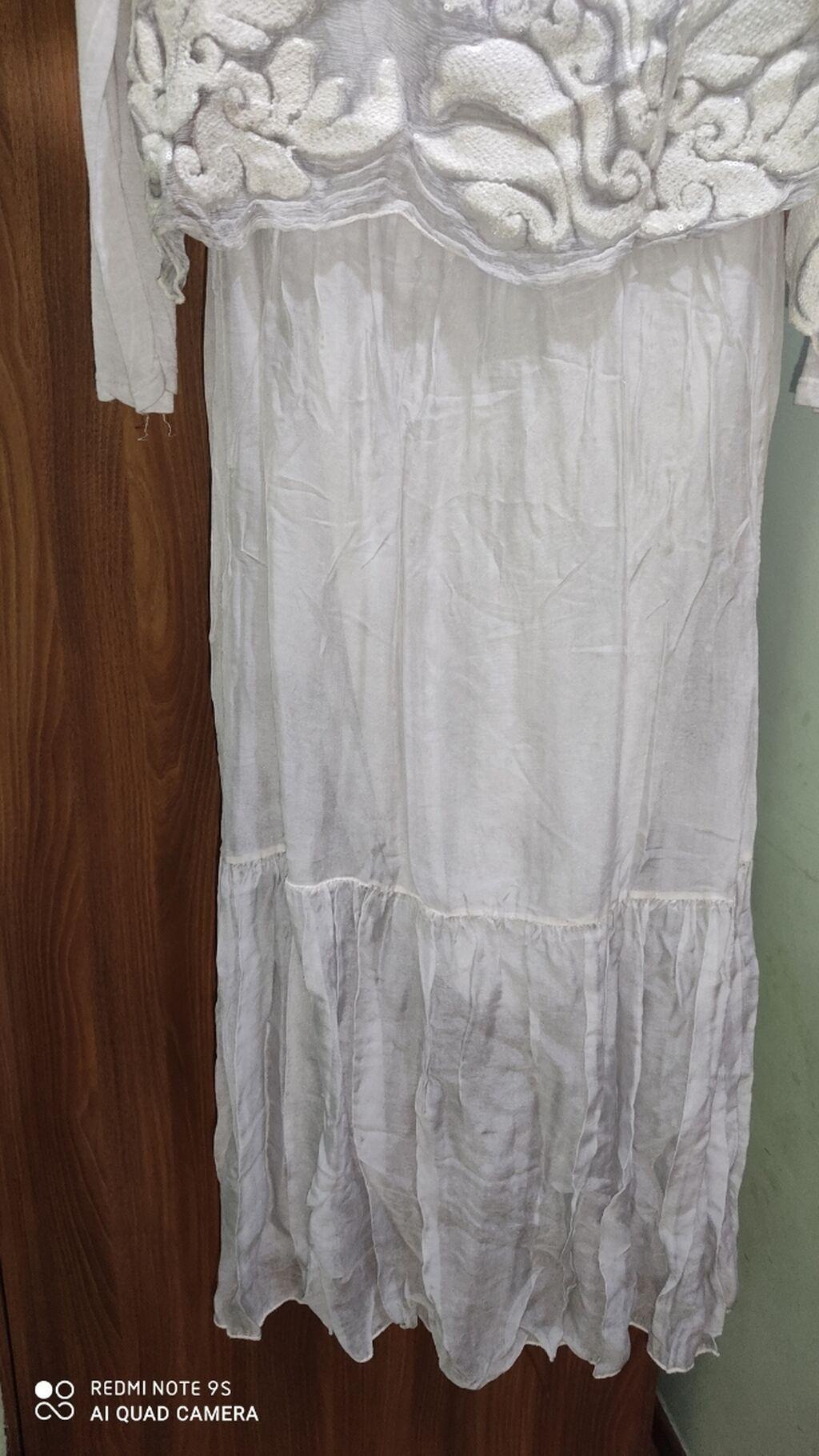Шелковая платья. Италия 48-50р: Шелковая платья. Италия 48-50р