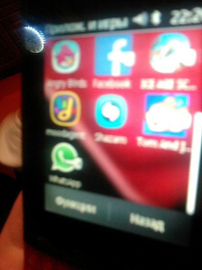 İsmayıllı şəhərində Nokia asha303. Yaxwi veziyyetdedir. Wifi cixiwi var. Whatsapp. Faceboo
