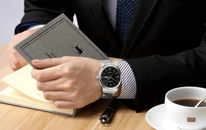 Деловые часы из нержавеющей стали для. Photo 3