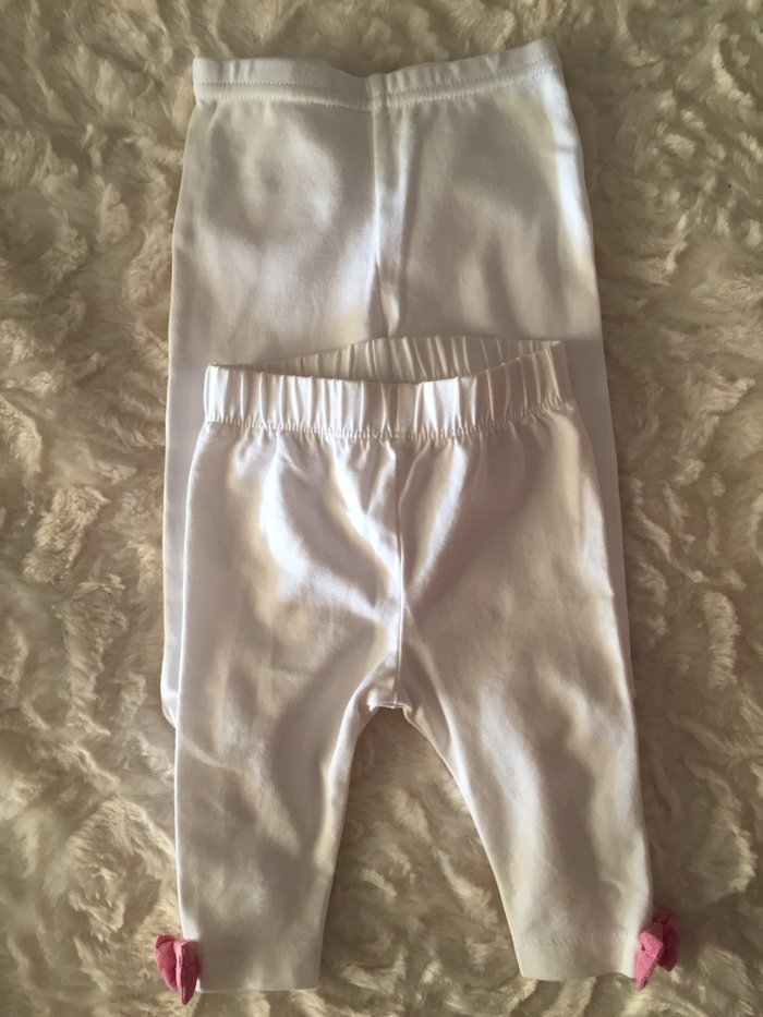 Leggings. 0-3 months. Very good condition. . Photo 0