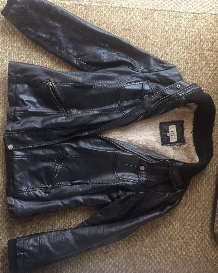Kožna jakna kao nova XL velicina - Beograd