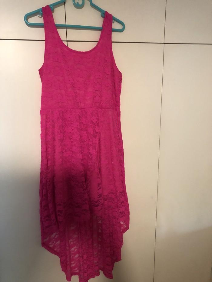 Όμορφο ροζ φόρεμα Candy Couture size L!!. Photo 0