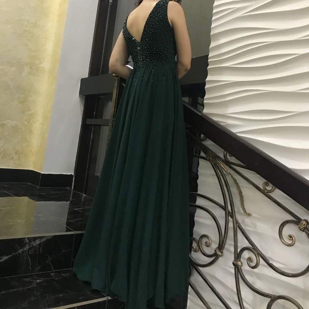 Продаётся вечернее платье в пол. Цвет: изумрудный. Индивидуальный поши: Продаётся вечернее платье в пол. Цвет: изумрудный. Индивидуальный поши