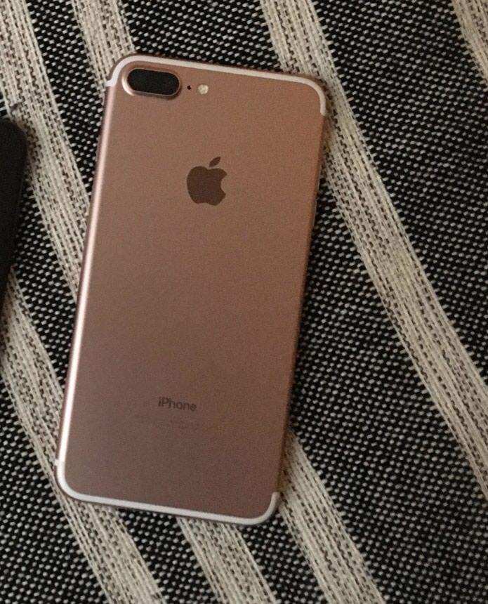Iphone 7 plus-rose gold hec bir problemi yoxdur ve olmayib 128GB. Photo 0